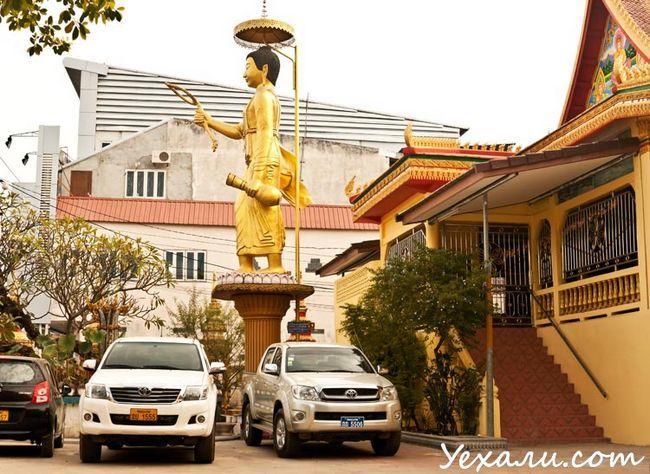 В`єнтьян, буддійський храм