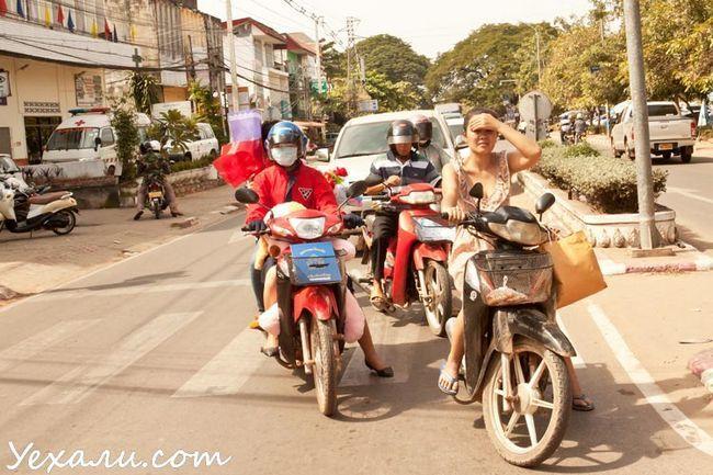 Дівчата на Мотобайк у В`єнтьяні