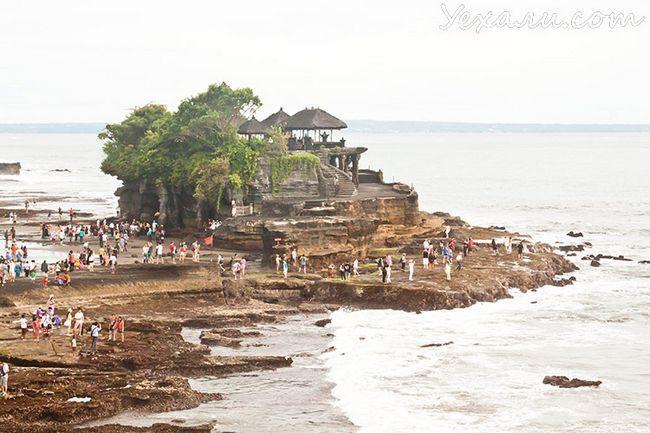 Пам`ятки Балі: храм Танах Лот