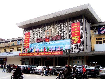 Залізничний вокзал в Ханої