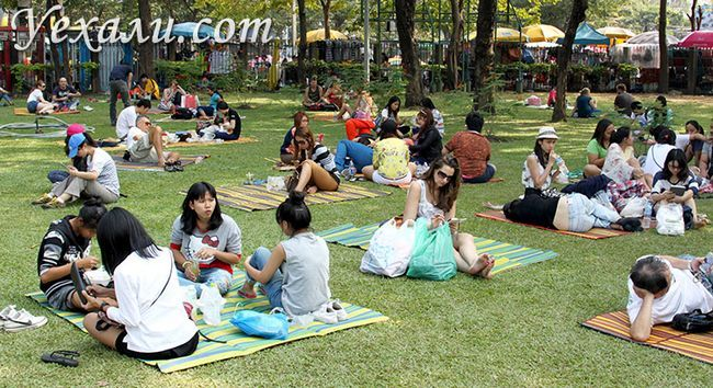 Парк Чатучак в Бангкоку