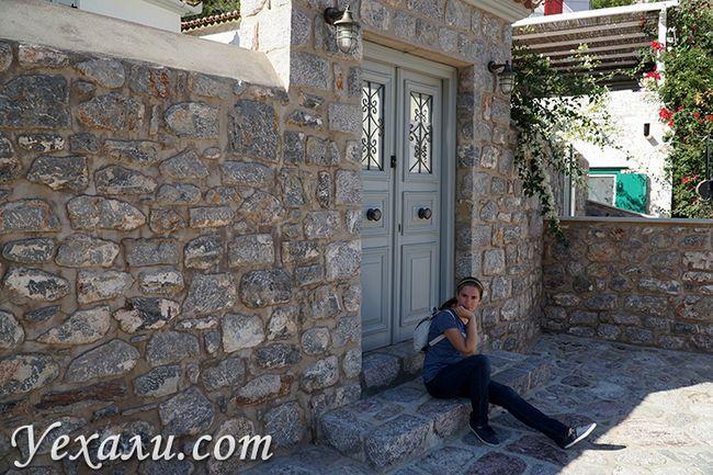 Краса на острові Ідра в Греції