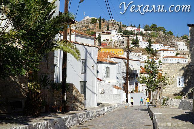 Острів Ідра в Греції (він же Гідра) і його мінімалістичні вулиці