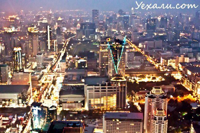 Фото нічного Бангкока