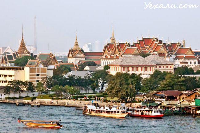 Фото Бангкока з Ват Арун на Ват По
