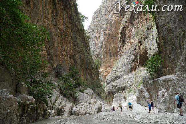 Висота ущелини Сакликент