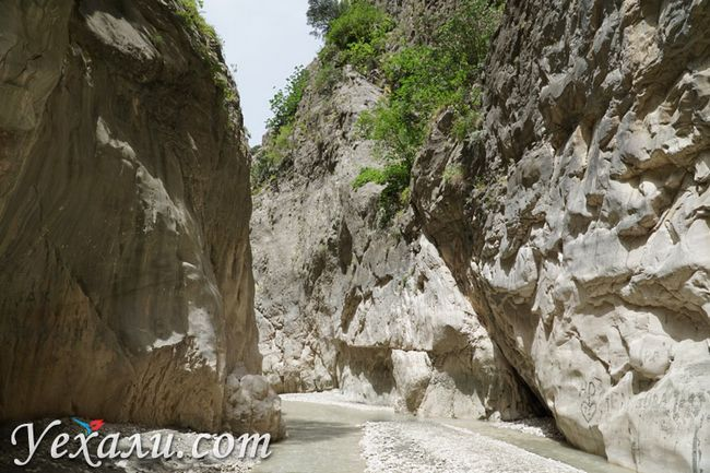 Фото ущелини Сакликент