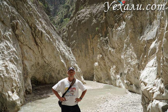 Екскурсія в ущелині Сакликент