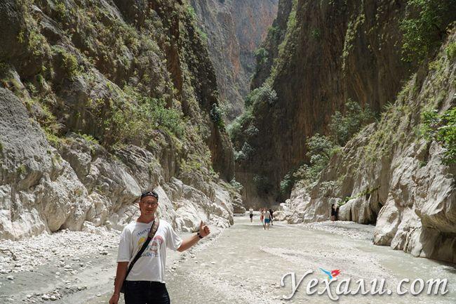 Каньйон Сакликент в Туреччині фото