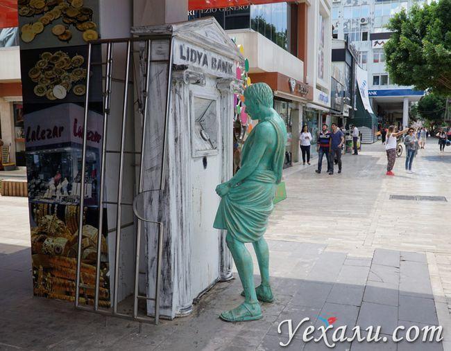 Статуї в Анталії