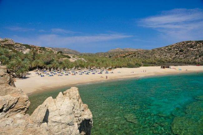 Вай - пальмовий пляж (о.кріт, греція)