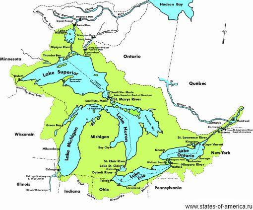 Великі озера (great lakes)