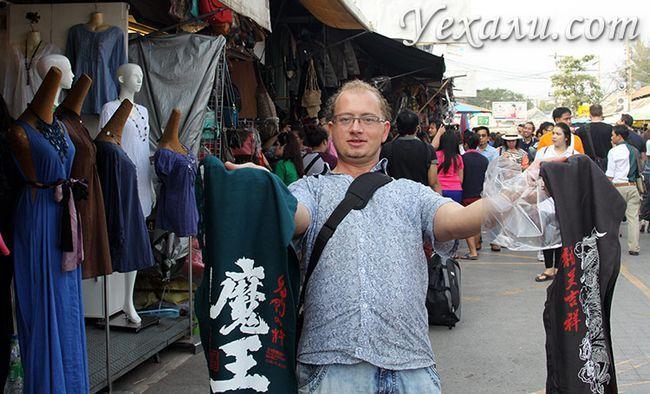 Фото ринку Чатучак, Бангкок, Таїланд
