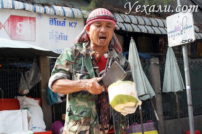 Фото ринку Чатучак, Бангкок, Таїланд.