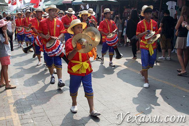 Фото ринку Чатучак в Бангкоку, Таїланд