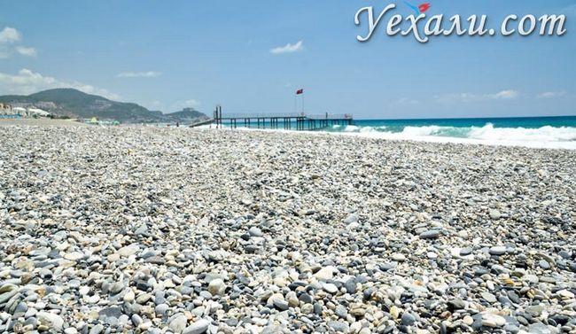 Фото пляжів Махмутлара.
