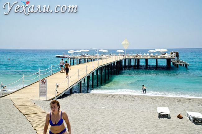 Відгуки про пляжі Махмутлара.