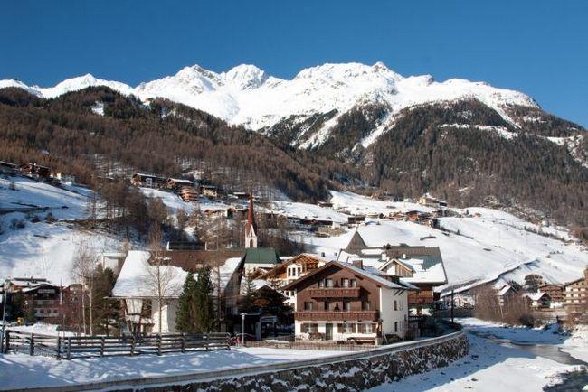 Зельден - гірськолижний курорт в долині ецталь (австрія)