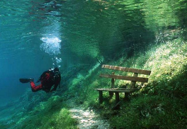 Зелене озеро (gruner see) - озеро-парк в австрії